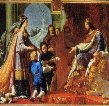arrival of the queen of sheba by handel